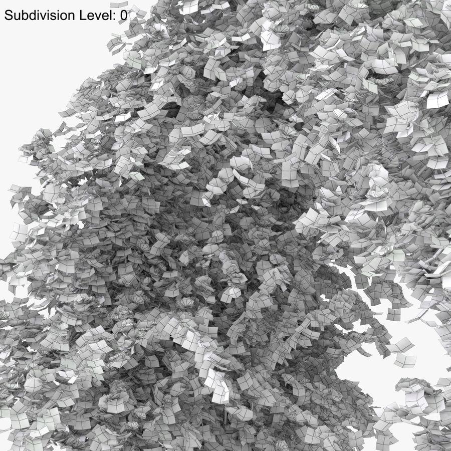 Ustaw róże pnące Bougainvillea 4 Pergole Z Kwiatami Bluszcz royalty-free 3d model - Preview no. 34