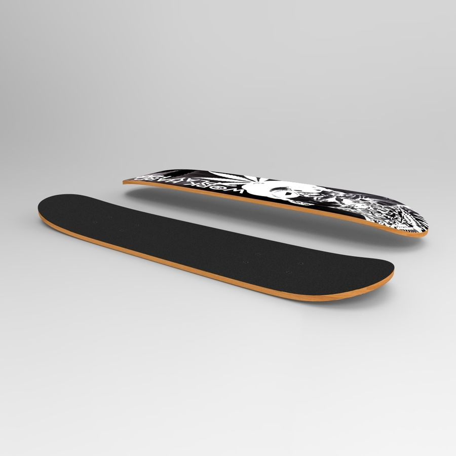 Board royalty-free 3d model - Preview no. 4