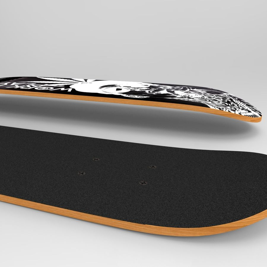 Board royalty-free 3d model - Preview no. 7