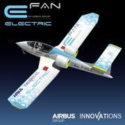 Airbus Efan Electric 3d model
