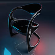 Futuristic Chair 3d model