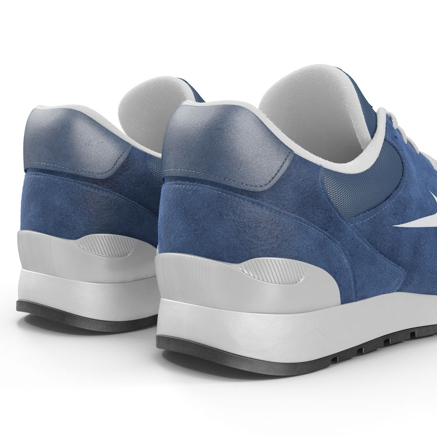 Sneakersy Nike royalty-free 3d model - Preview no. 14