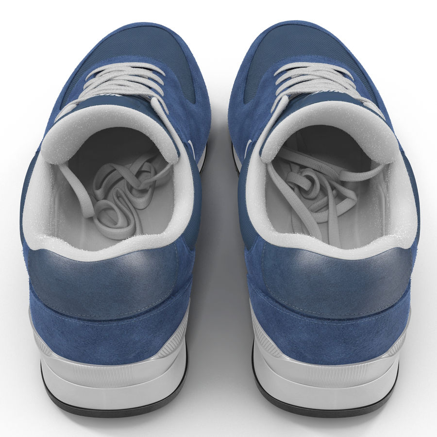 Кроссовки Nike royalty-free 3d model - Preview no. 7