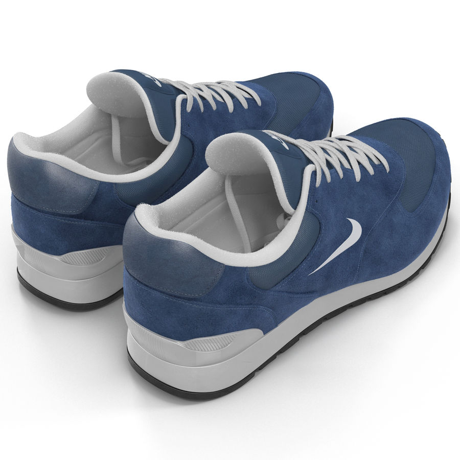 Кроссовки Nike royalty-free 3d model - Preview no. 5