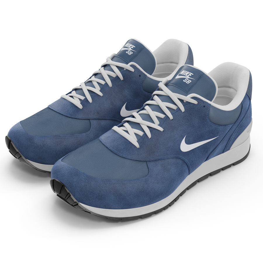 Кроссовки Nike royalty-free 3d model - Preview no. 2