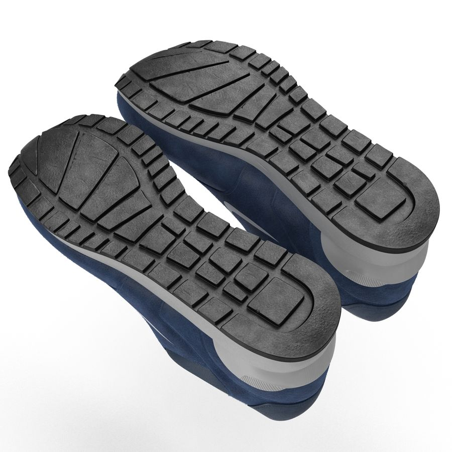 Sneakersy Nike royalty-free 3d model - Preview no. 10