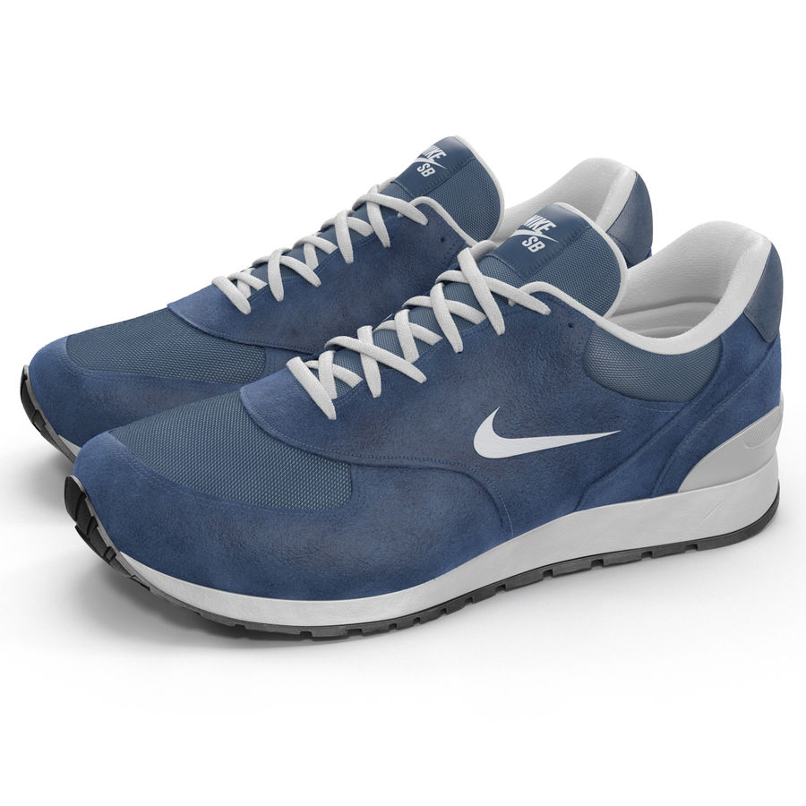 Кроссовки Nike royalty-free 3d model - Preview no. 3