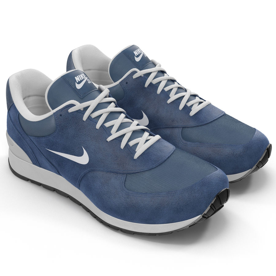 Кроссовки Nike royalty-free 3d model - Preview no. 4