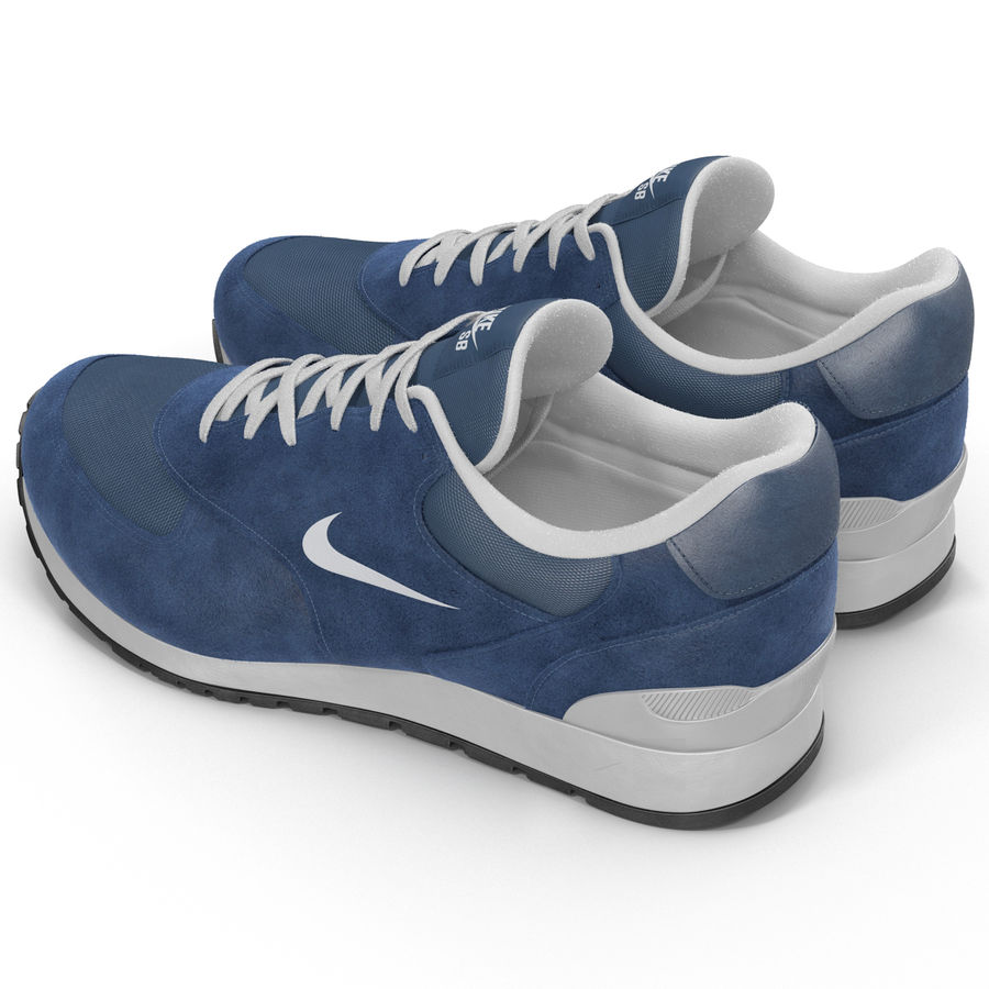 Sneakersy Nike royalty-free 3d model - Preview no. 6