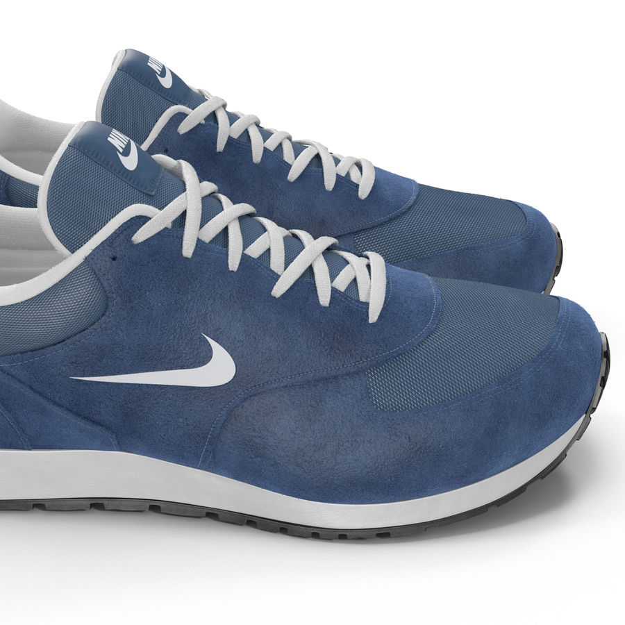 Кроссовки Nike royalty-free 3d model - Preview no. 16
