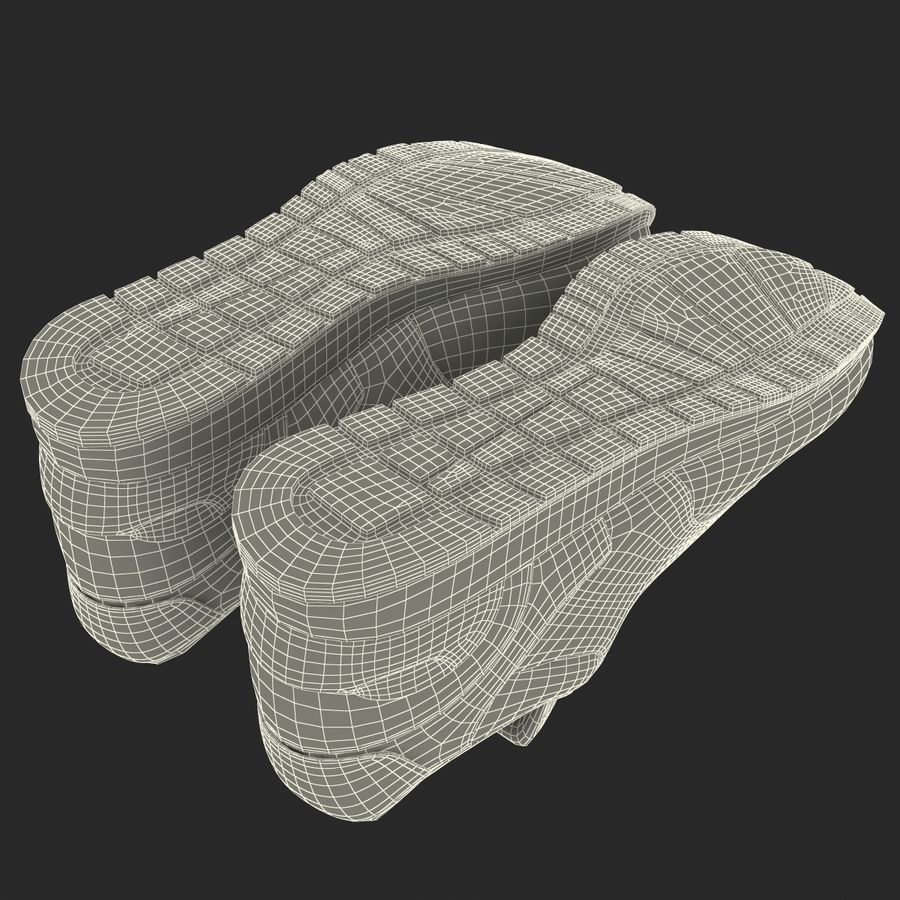 Sneakersy Nike royalty-free 3d model - Preview no. 26