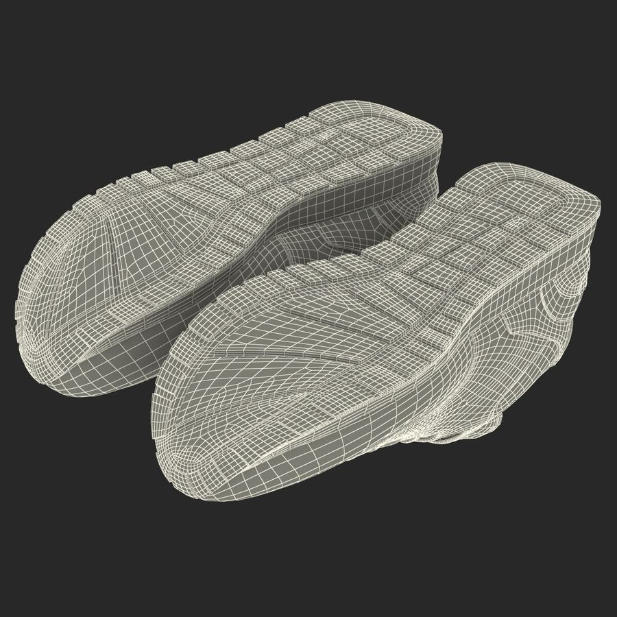 Кроссовки Nike royalty-free 3d model - Preview no. 27