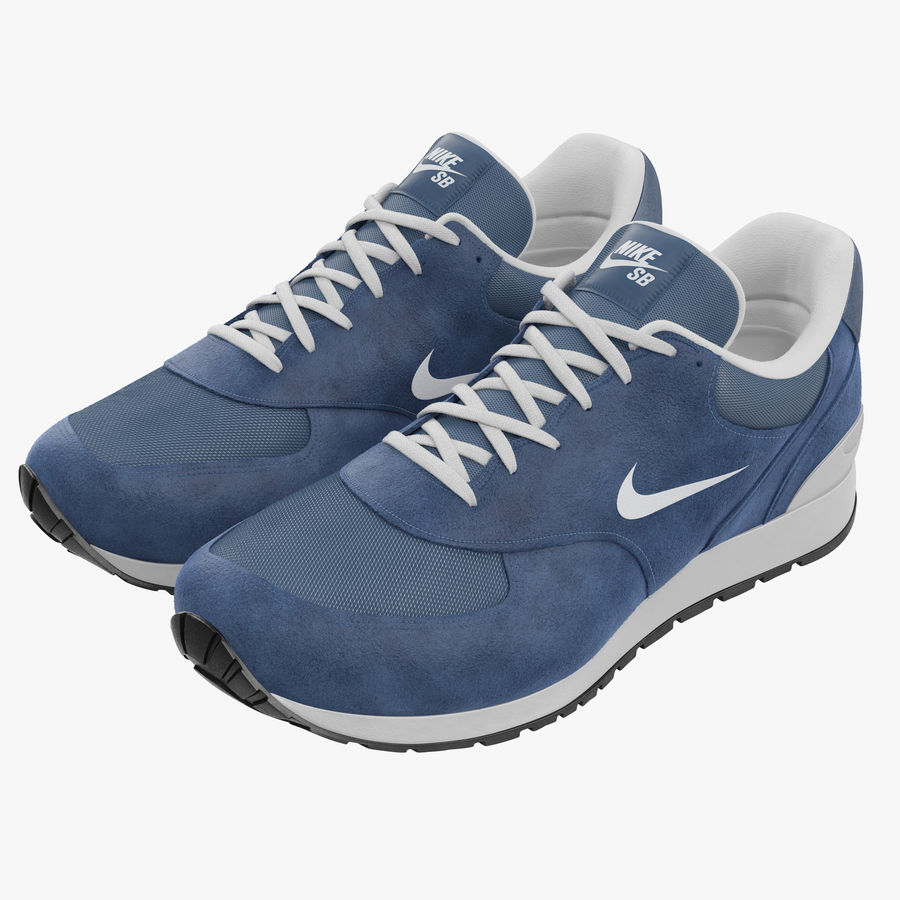 Кроссовки Nike royalty-free 3d model - Preview no. 1