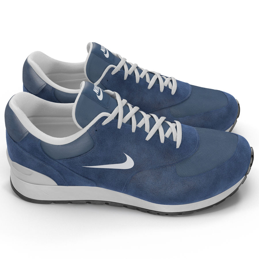 Кроссовки Nike royalty-free 3d model - Preview no. 9