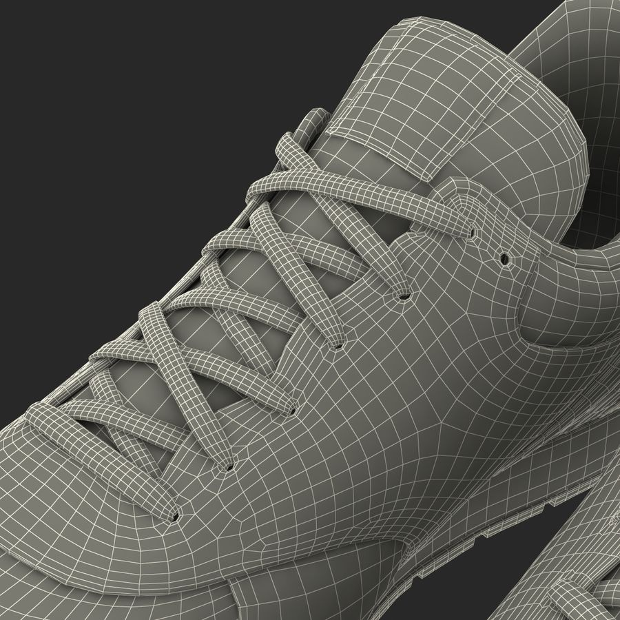 Кроссовки Nike royalty-free 3d model - Preview no. 28