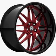 HRE C20ブラックレッド 3d model