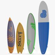Surfboards-Sammlung 3d model