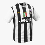 T-Shirt Juventus 3d model