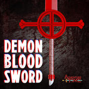 Demon Blood Sword 3d model