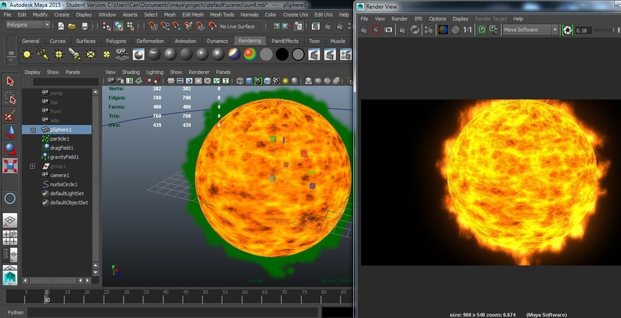Sun With Animation Hd Cheap 3d Model 5 Ma Free3d