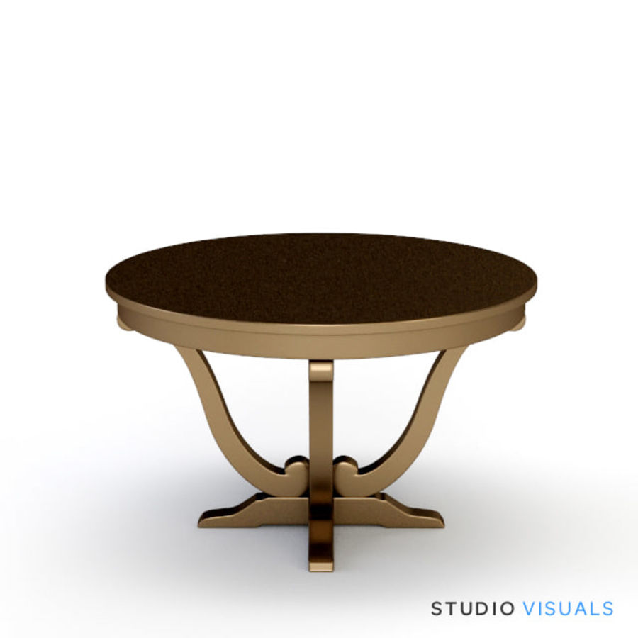 Camille Table VR royalty-free 3d model - Preview no. 1