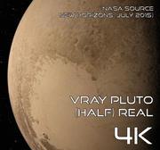 Vray Plutão (Meio) Real 4K 3d model