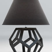 Dustin Dodecahedron Table Lamp 3d model