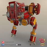 Mech Robot Dron 3d model