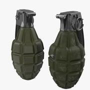 Grenades F1 3d model