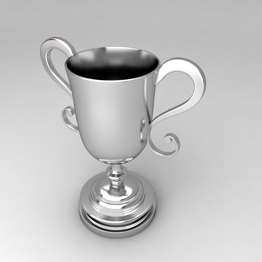 Awards Trophies 91 royalty-free 3d model - Preview no. 6
