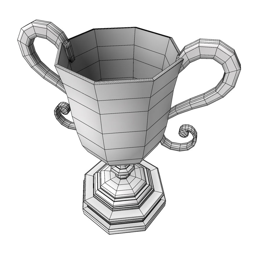 Awards Trophies 91 royalty-free 3d model - Preview no. 8