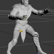 忍者武道の武器 3d model