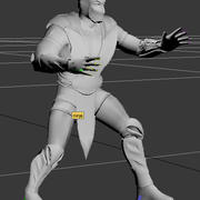 ninja martial art weapon 3d model