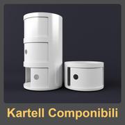 Kartell Componibili 3d model