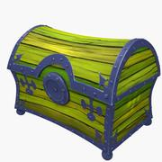 Treasure Cartoon Chest 3d model