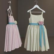 Платье 3d model