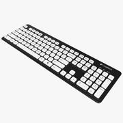Logitech Washable Keyboard K310 3d model