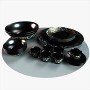 Pratos árabes 3d model