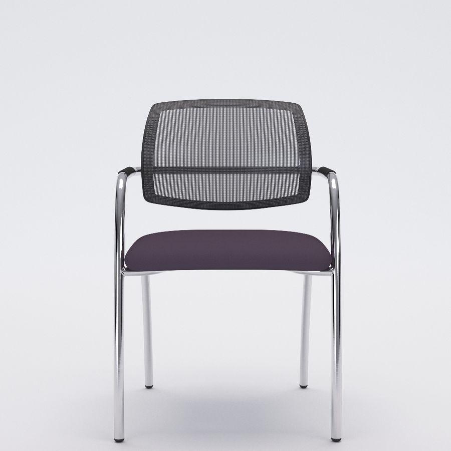 Silla de oficina 6-6 royalty-free modelo 3d - Preview no. 1