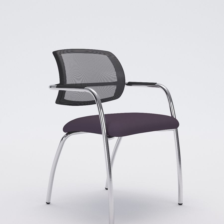 Silla de oficina 6-6 royalty-free modelo 3d - Preview no. 2
