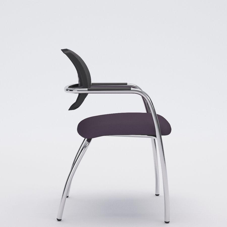 Silla de oficina 6-6 royalty-free modelo 3d - Preview no. 3