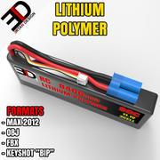 锂聚合物 3d model