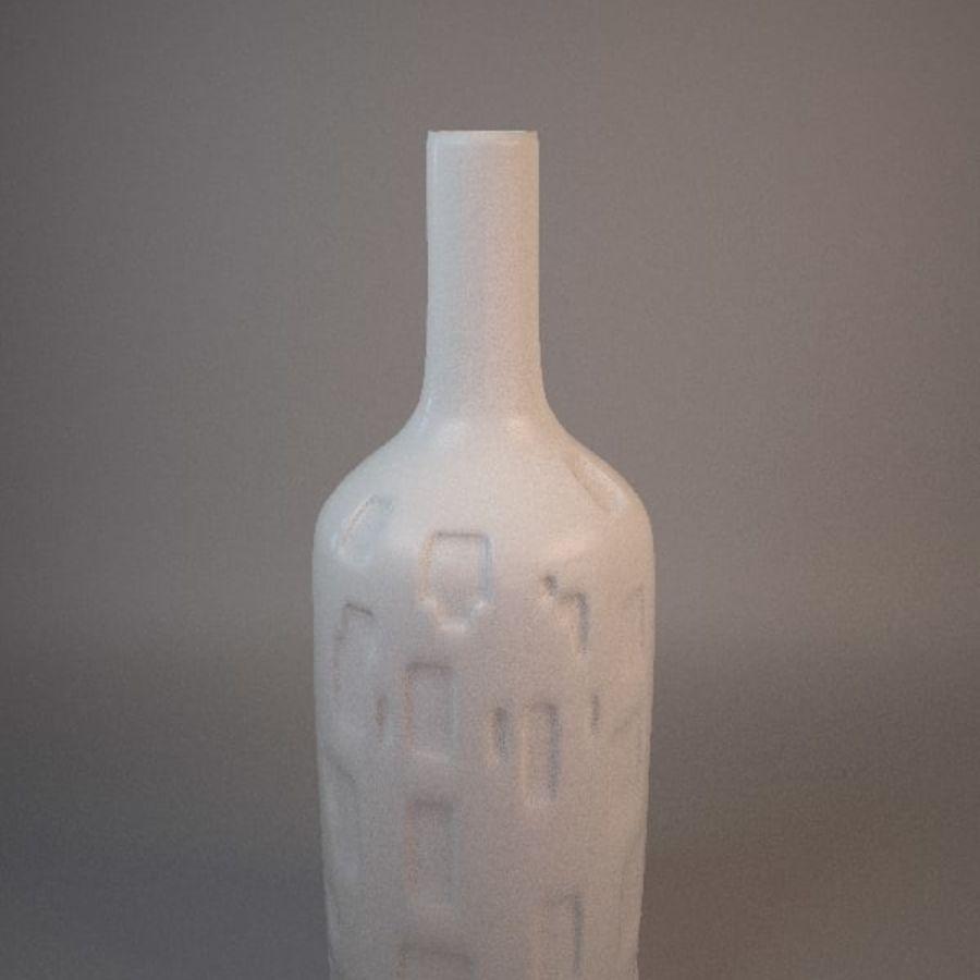 装飾セラミック花瓶 royalty-free 3d model - Preview no. 1