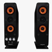creative t40 gigaworks speaker 3d model