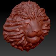 lejonhuvud 3d model