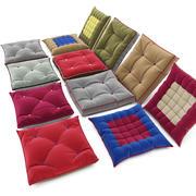 Seat cushions 02 3d model