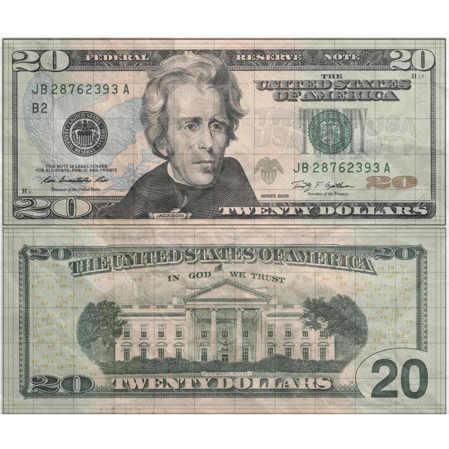 紙幣 20 ドル