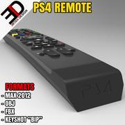 PS4 REMOTE 3d model