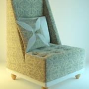 Fotel Flowary 3d model