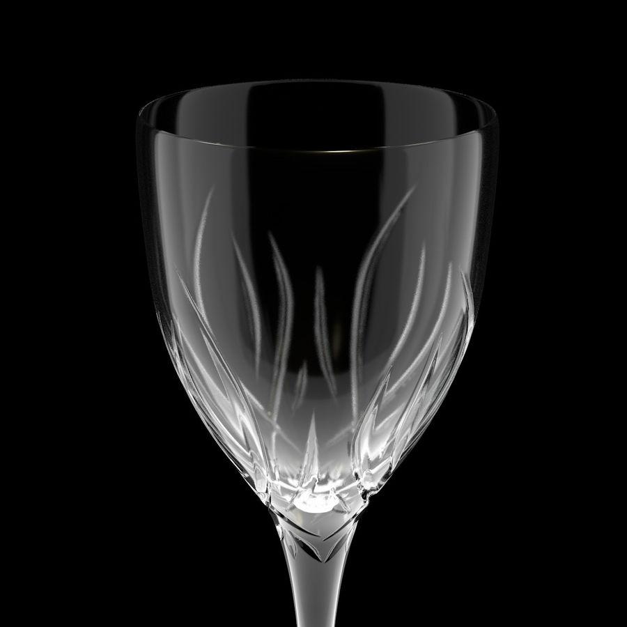 Verre de vin royalty-free 3d model - Preview no. 4